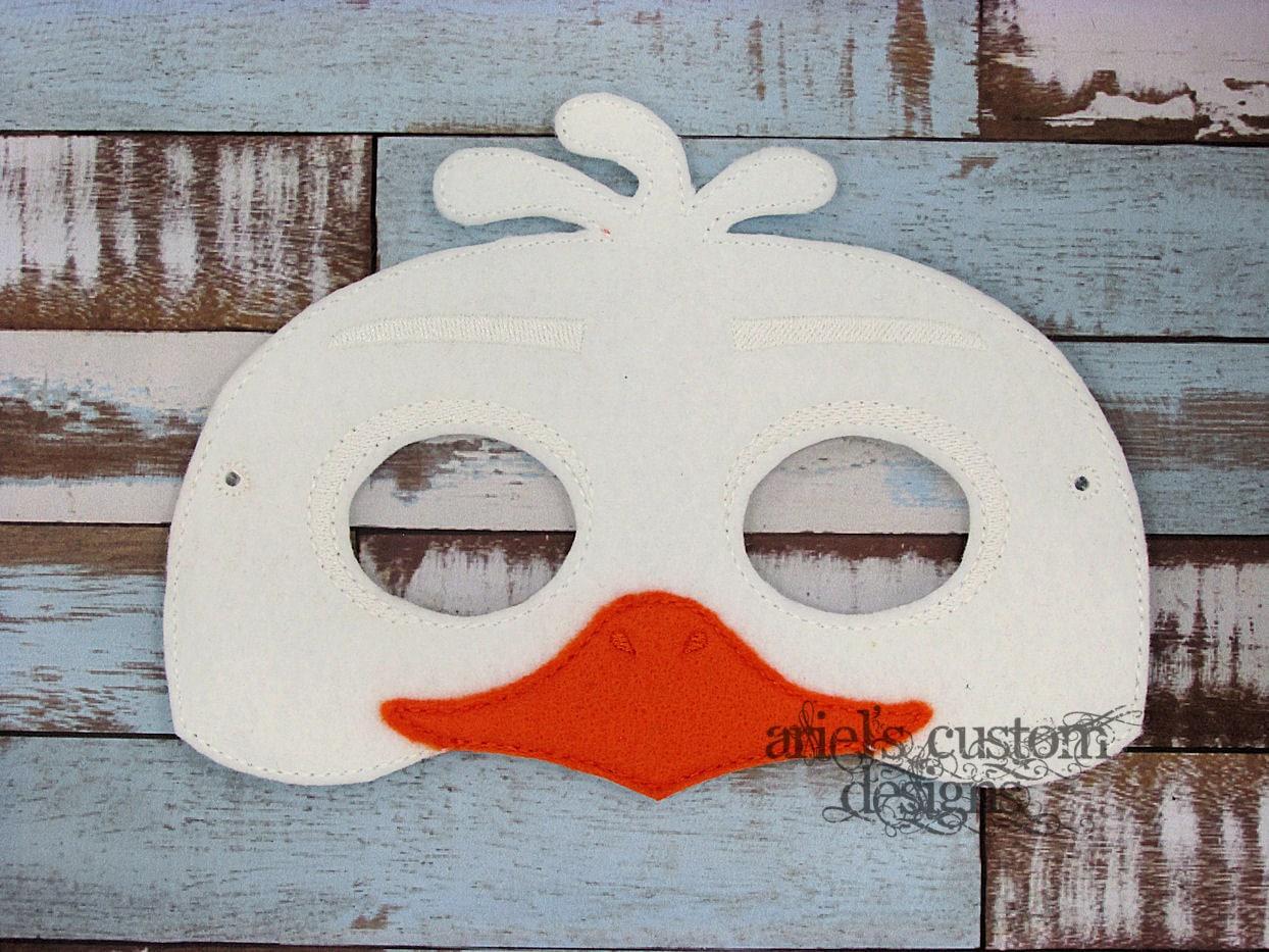 Vogel-Maske Möwe Eagle Huhn Vogel Kostüm Filz Dress Up