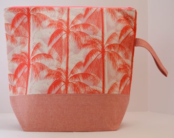 Palm Trees Extra Large Project Bag