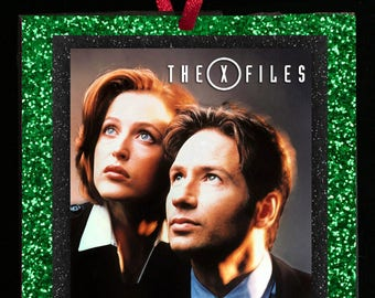 X FILES Glitter Ornament