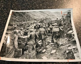 Vintage 1952 Korea Wire Photo
