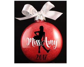 Tap Dancer Christmas Ornament, Tap Teacher Christmas Ornament, Dance Christmas Ornament, Dance Teacher Gift