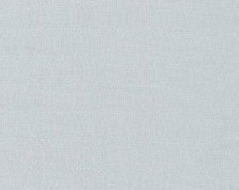 Pale Gray Double Gauze 100% Cotton Fabric by Robert Kaufman For Sewing and Crafting - Half Yard