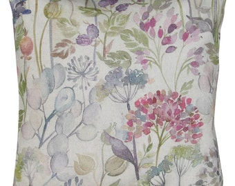 Voyage Hedgerow Linen Cushion Cover
