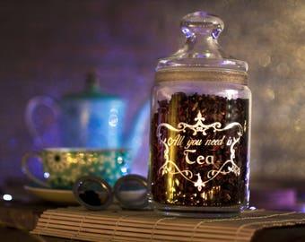 TEA Jar 35oz/1000ml