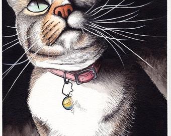 Kitty - Print 5x7 or 8x10