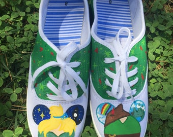 Peter Pan Mickey shoes