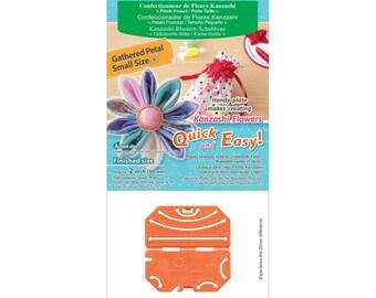 Clover Kanzashi Flower Maker - Gathered/Small art. 8484