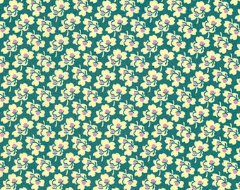 Pansies Ivory, Eternal Sunshine, Amy Butler Fabric