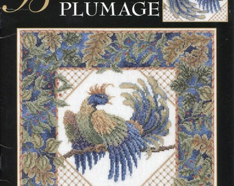 Teresa Wentzler * Brilliant Plumage * counted cross stitch leaflet - Leisure Arts 2006