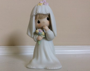"Precious Moments the ""Bride"" figurine, # 874485 Enesco."