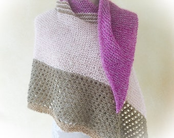 """Knitted scarf """"Summer evening"""""""