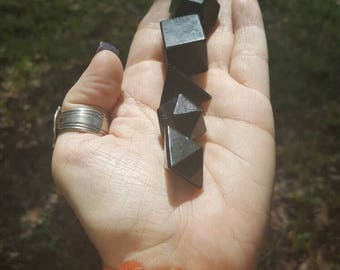 Shungite, Sacred Geometry Set