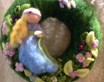 Spring fairy Garland