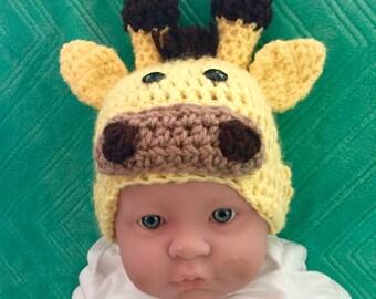 Giraffe Hat for infant