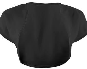 Ladies Black Chiffon bolero Shrug Sizes 4-32