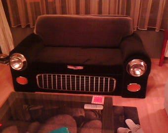 Classic Car Sofa (1955 Chevy looks)