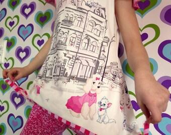 Summer tunic made of desire fabric!
