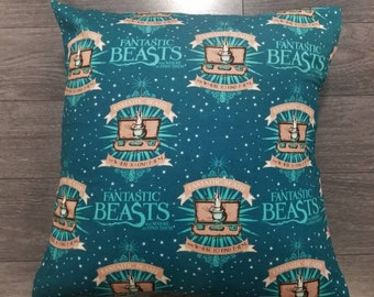 Fantastic Beasts and Where to Find Them Throw Pillow Cover