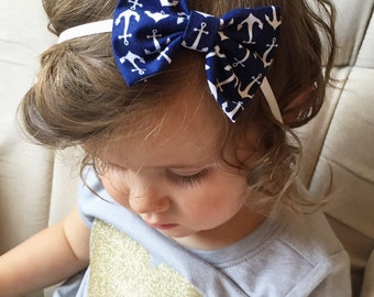 Anchors baby bow