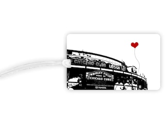 Chicago Cubs Wrigley Field Luggage Tag