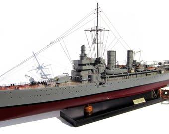 HMS Gotland Model Ship - Swedish Navy
