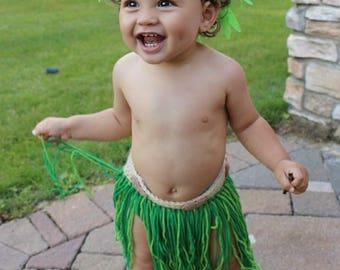 Crochet Maui Costume, Maui SKIRT ONLY, Toddler Maui Costume, Child Maui Costume, Moana Birthday, Maui Birthday, Maui Skirt, Moana Party