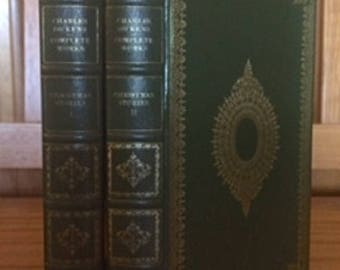 Christmas Stories by Charles Dickens 2 Volume set