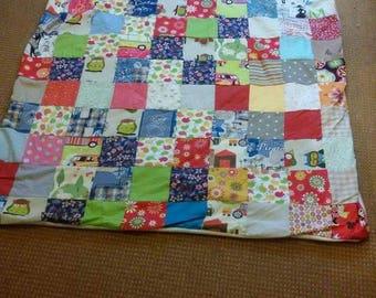 Plaid patchwork fabric