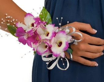 Wedding corsage, flower corsage, wrist corsage, bridal corsage, mother corsage