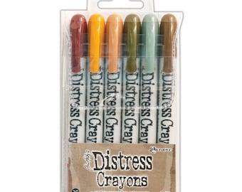 Ranger Tim Holtz Distress Crayons SET 10