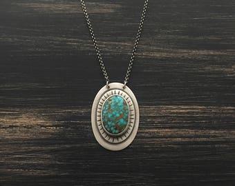 Kingman Turquoise Pendant