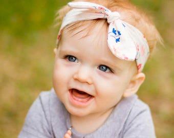 PICK ANY Knotted Headband ||| Baby Headband, Toddler Headband, Infant Top Knot Headband, Jersey Headband, Baby Jersey Headband, Photo Prop