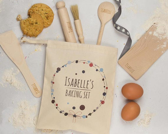 Personalised Childs Baking Set