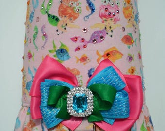 Dog Harness Vest - Mermaid Fantasy - Beach, Ocean