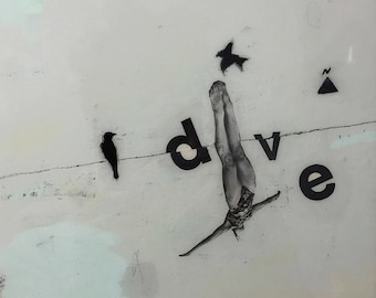dive — limited edition print
