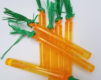 Baby Carrot Bubble Party Favors