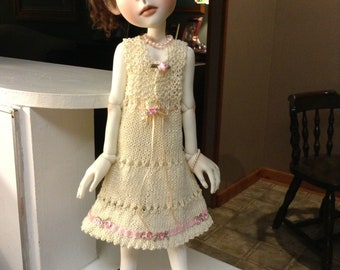 Connie Lowe Big Stella hand knit dress and sweater set