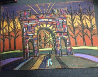 Admire The McLennan Arch at Glasgow Green
