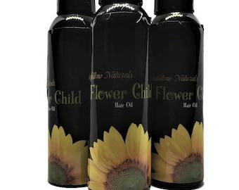 Nourishing Revitalizing Hair Oil with Emu Oil: Flower Child
