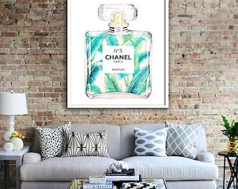 Chanel print PRINTABLE FILE  Chanel art, fashion print, fashion wall art, Chanel poster, coco chanel, oversize art, dorm decor, wall art