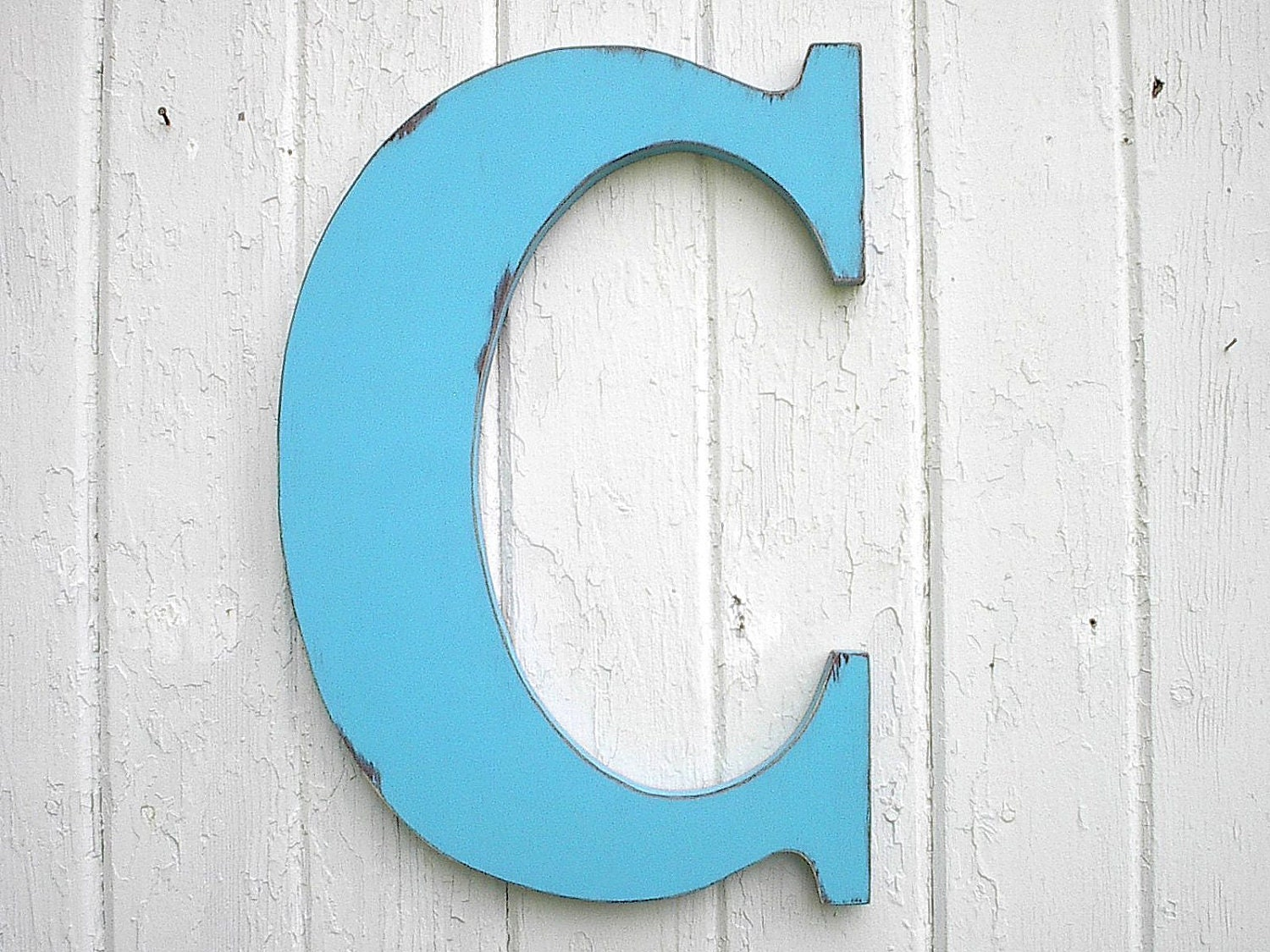 Letter C For Wall Wooden Letters Bimini Blue Letter C Monogram Initial Kids Wall