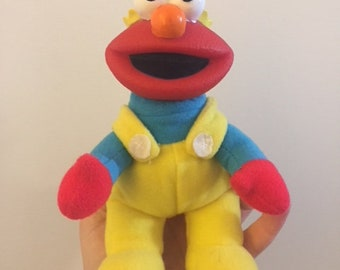 1995 Elmo Mini Plush Doll