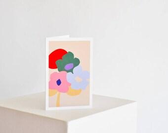 Adenium Flowers Card