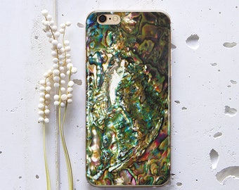 Abalone Shell Case for Samsung S6 Edge Plus Case for Samsung Galaxy S7 Case iPhone 8 iPhone X Case iPhone 6s Plus Case iPhone 7 WC1027
