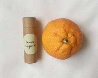 orange bergamot chapstick
