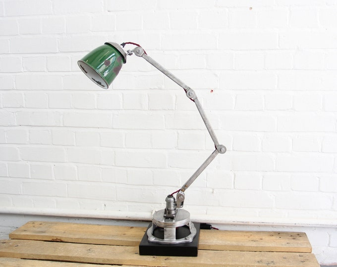 Industrial Desk Lamp By EDL Circa 1930s