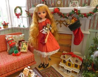 Miniature Dollhouse by Pat Carlson