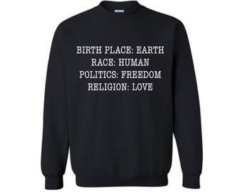 Woman Peace Sweatshirt