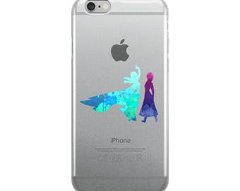 Elsa and Anna Inspired iPhone Case