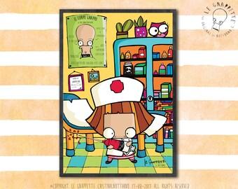 Print Nurse Doctor